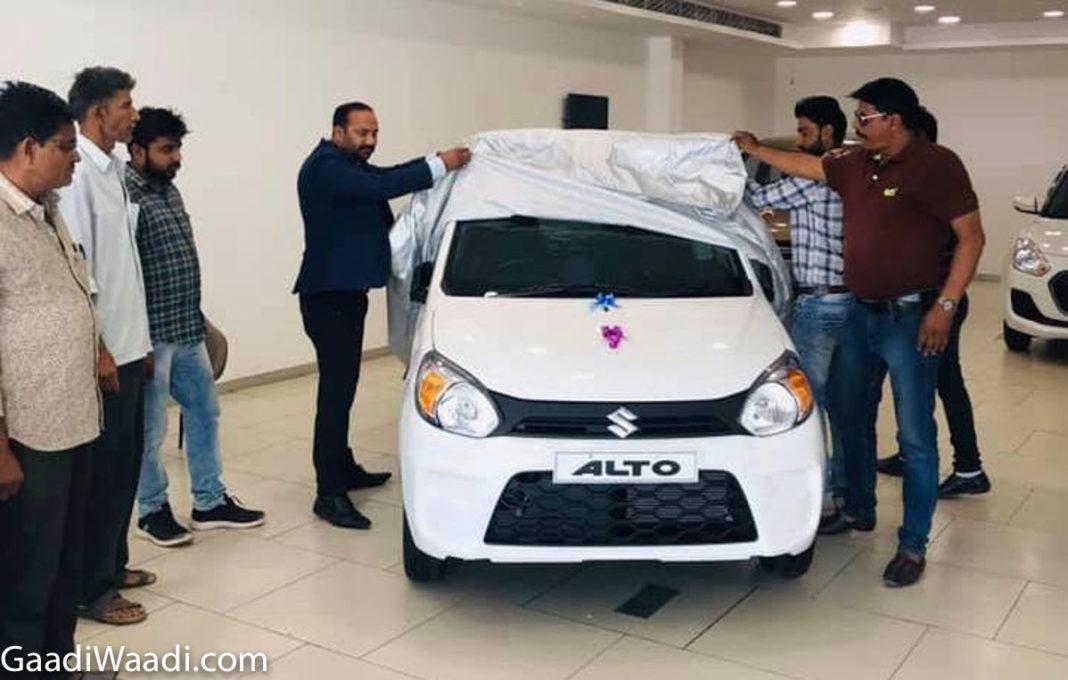 2019 maruti suzuki alto 800 delivery 1