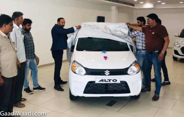 Deliveries Of Maruti Suzuki Alto 800 BS6 Have Begun