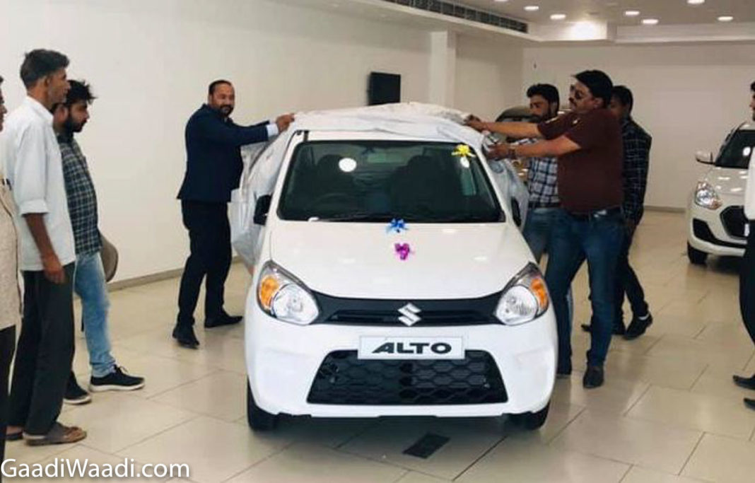 2019 maruti suzuki alto 800 delivery, first bsvi car