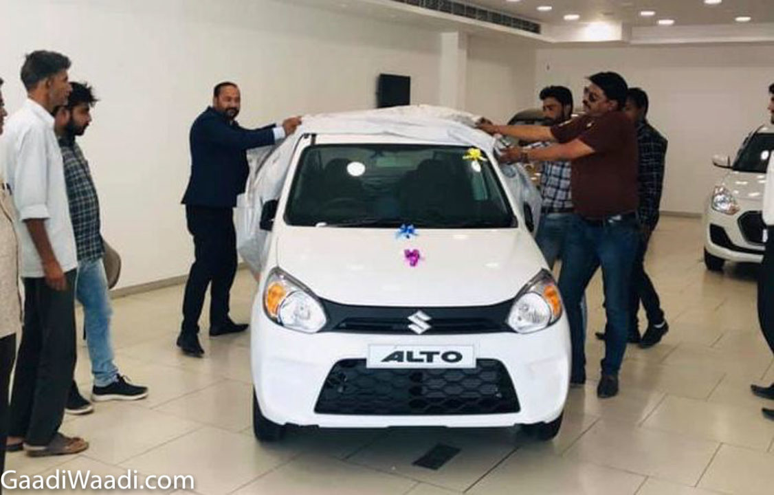 2019 maruti suzuki alto 800 delivery, first bsvi car