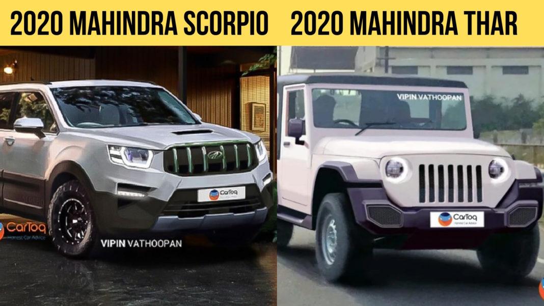 2020 Mahindra Scorpio 2020 Mahindra Thar