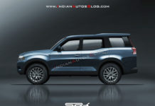 2020 Mahindra Scorpio Rendered