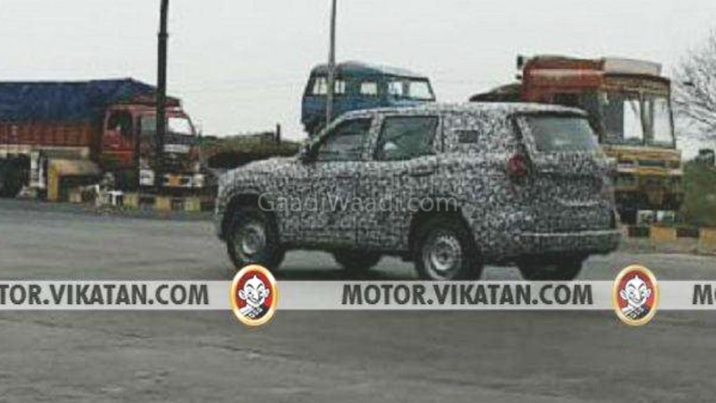 2020 mahindra scoprio spied in india-4