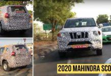 2020 mahindra scorpio spied on test-2