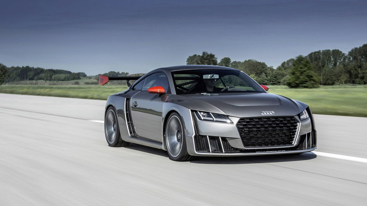 audi tt sports car will be replaced by an electric model officialaudi tt clubsport turbo concept_