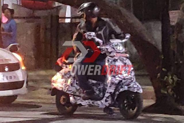 Bajaj Chetak Electric Scooter Spied