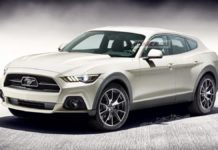 Ford Mustang Based Electric SUV Rendered (Mach 1 or Mach E)