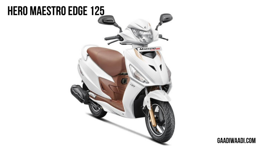 Hero Maestro Edge 125 white