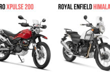 Hero Xpulse 200 Vs Royal Enfield Himalayan
