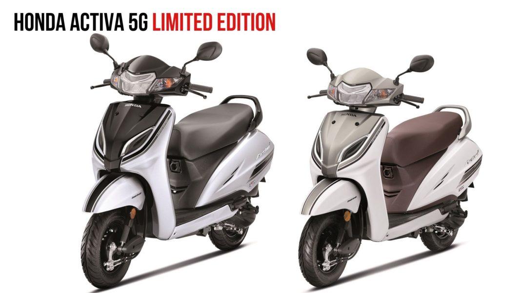 Honda Activa 5G limited Edition