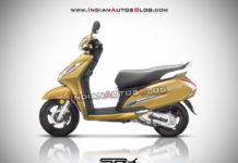 Honda Activa 6G Rendering