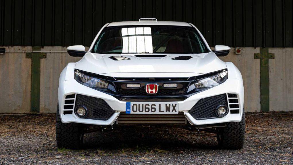 Honda Civic Type R OveRland Front