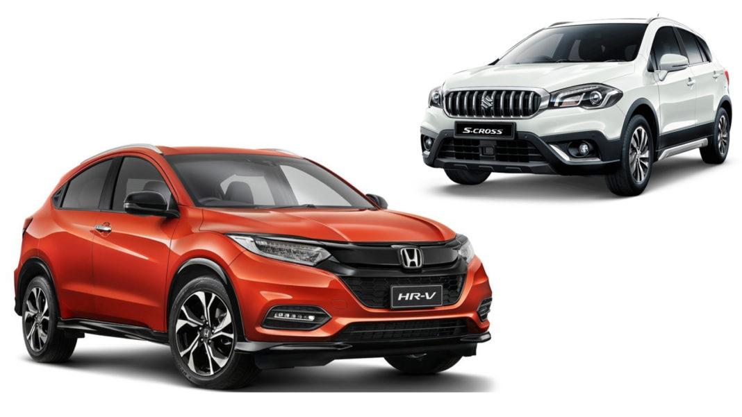 Honda HR-V Vs Maruti Suzuki S Cross Specification Comparison