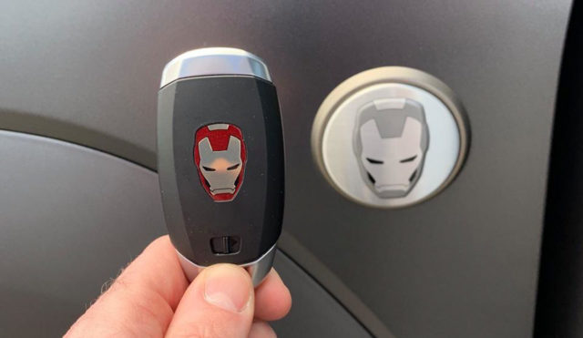 Hyundai Kona Ironman Edition Keyfob