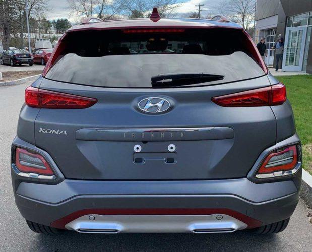Hyundai Kona Ironman Edition Rear