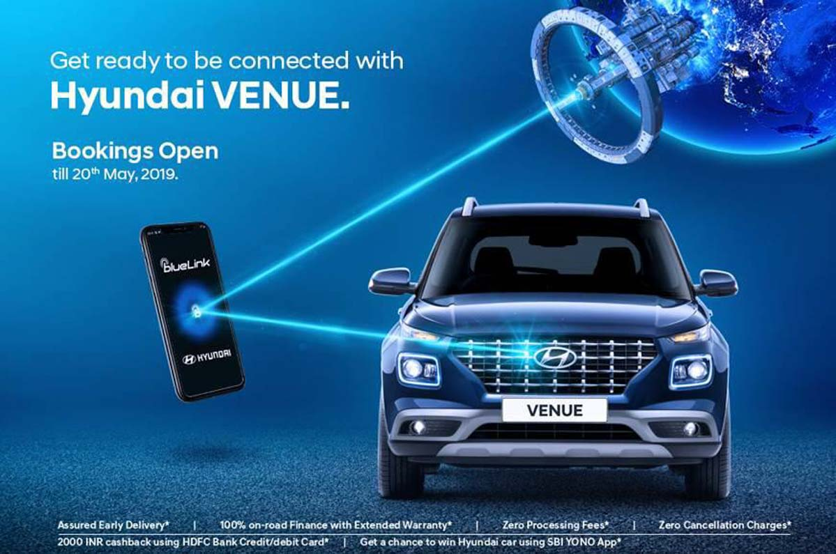 Hyundai Venue Booking Officially Opens In India Today