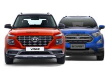 Hyundai Venue Vs Ford EcoSport - Dimension & Engine Spec Comparison 2