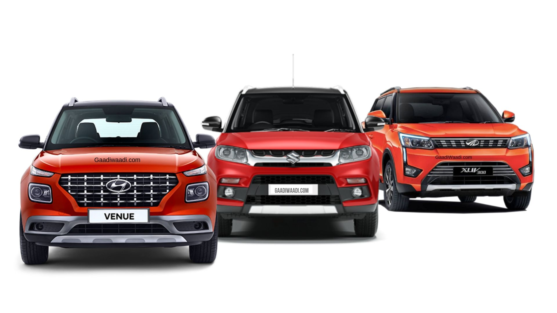 Sub-4M SUV Petrol Vs Diesel Sales Of 2019 – Brezza, Venue, XUV300