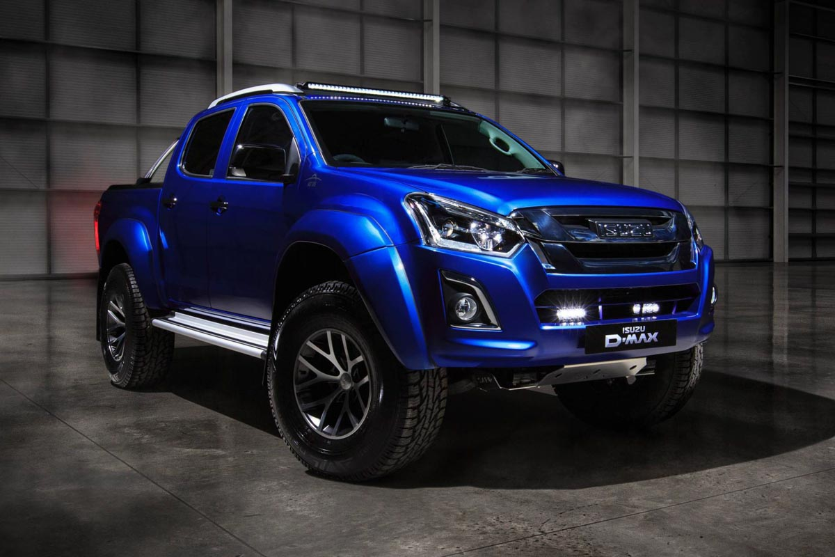 Isuzu D-Max Arctic Trucks AT35 Safir Limited Edition Is