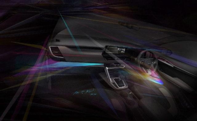 Kia SP2i Interior Design Sketch