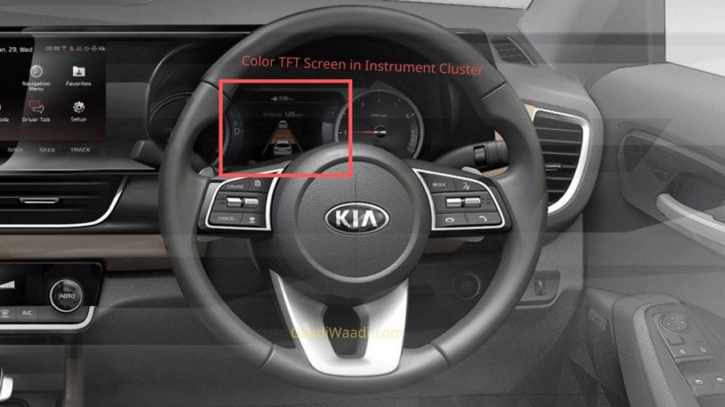 Kia SP2i colour tft screen