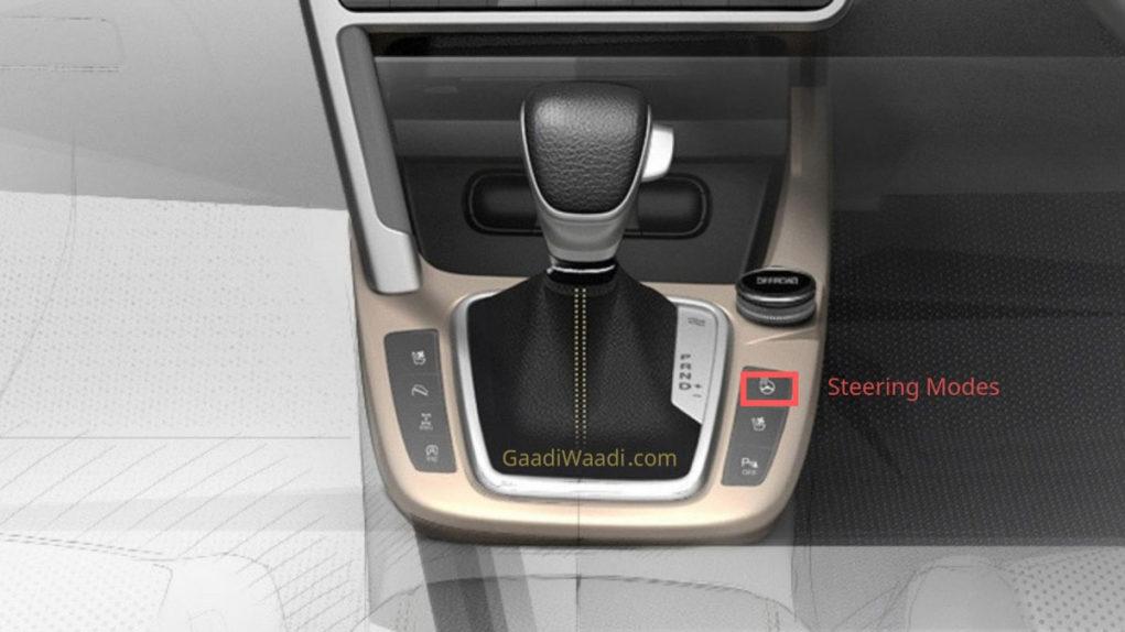 Kia SP2i steering modes