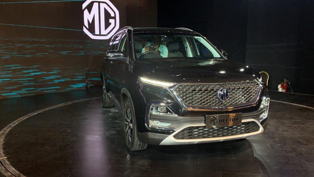 MG Hector Premium SUV black