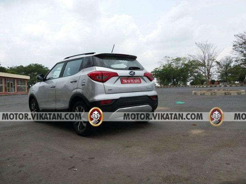 Mahindra-XUV-300-BSVI-spied-2