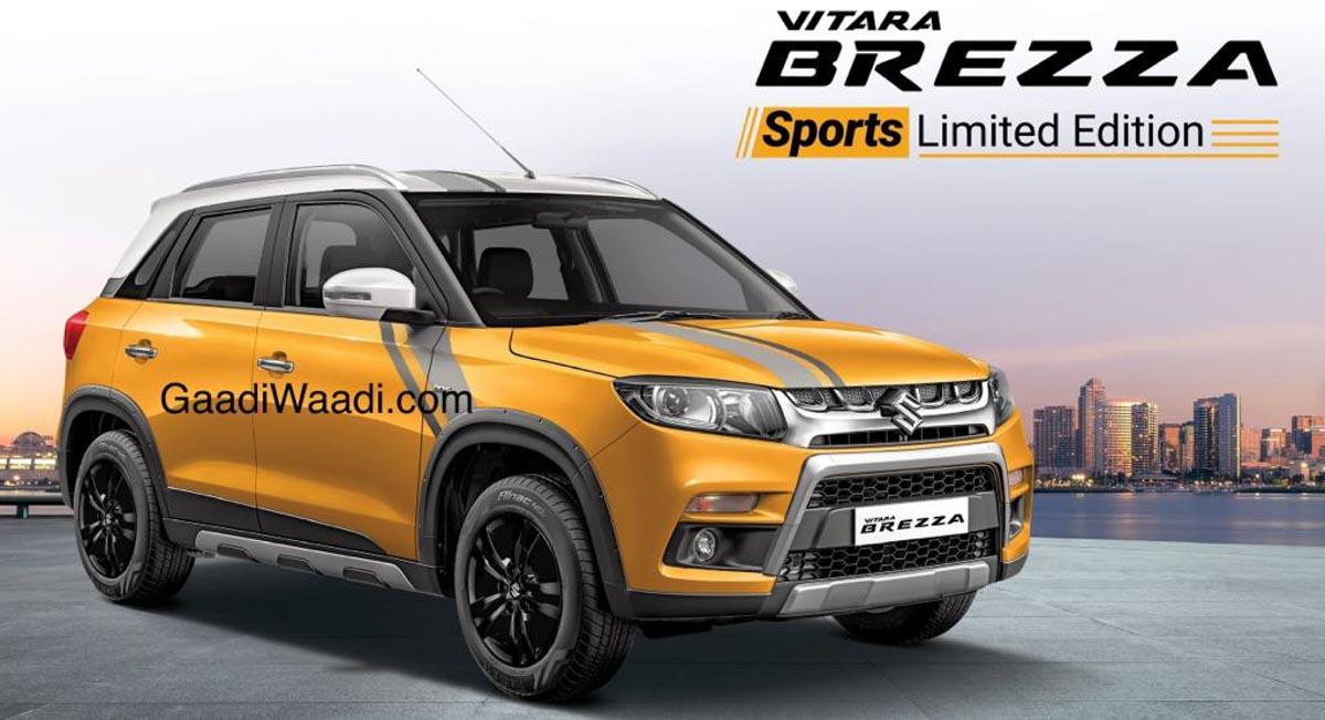 Maruti Suzuki Vitara Brezza Sports Limited Edition