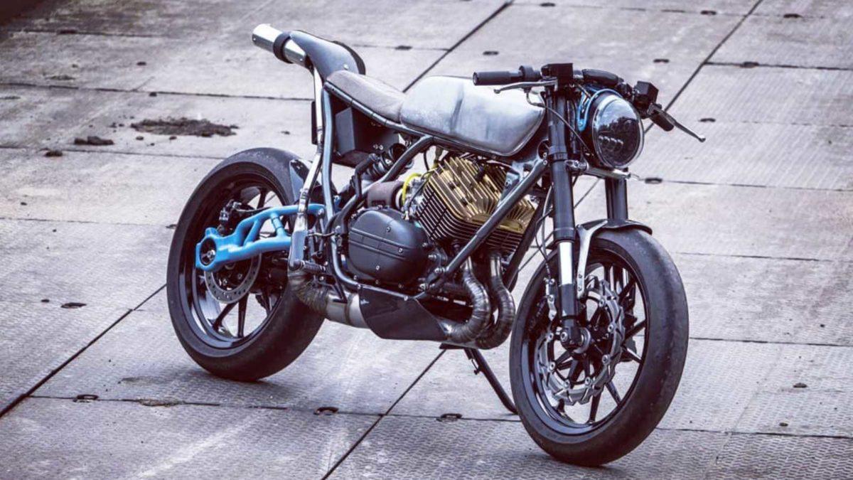 This Custom Yamaha RD 350 Is A Modern Day Café Racer With