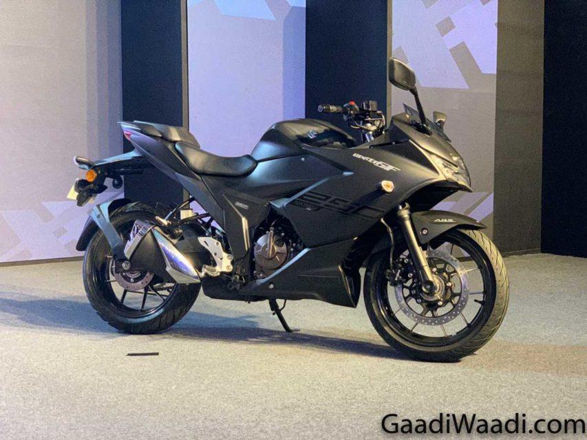 Suzuki Gixxer SF 250 Black