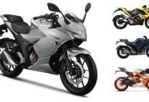 Suzuki Gixxer SF 250 Price Comparison With CBR250R, KTM RC200 & Pulsar RS200