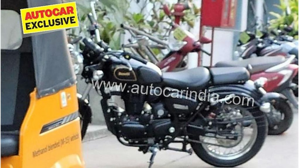 Upcoming Royal Enfield 350 Rival Benelli Imperiale 400 Cruiser Spotted