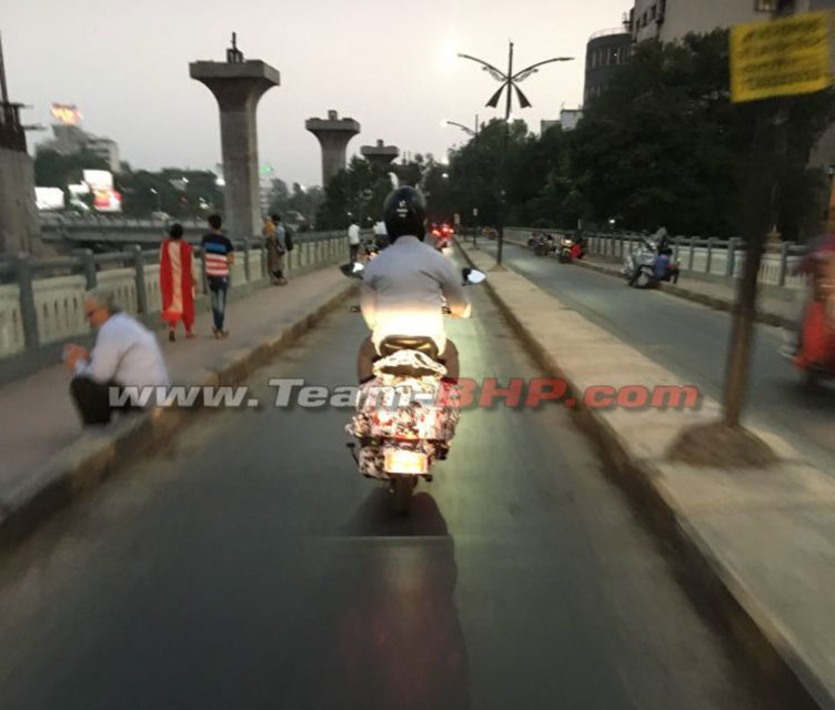 Urbanite Electric Scooter Spied