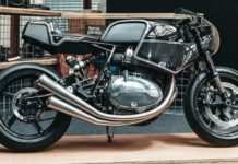 customised royal enfield 650