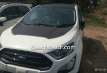 ford ecosport thunder edition front