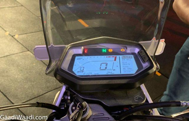 हीरो xpulse 200 डिजिटल एलसीडी उपकरण कन्सोल