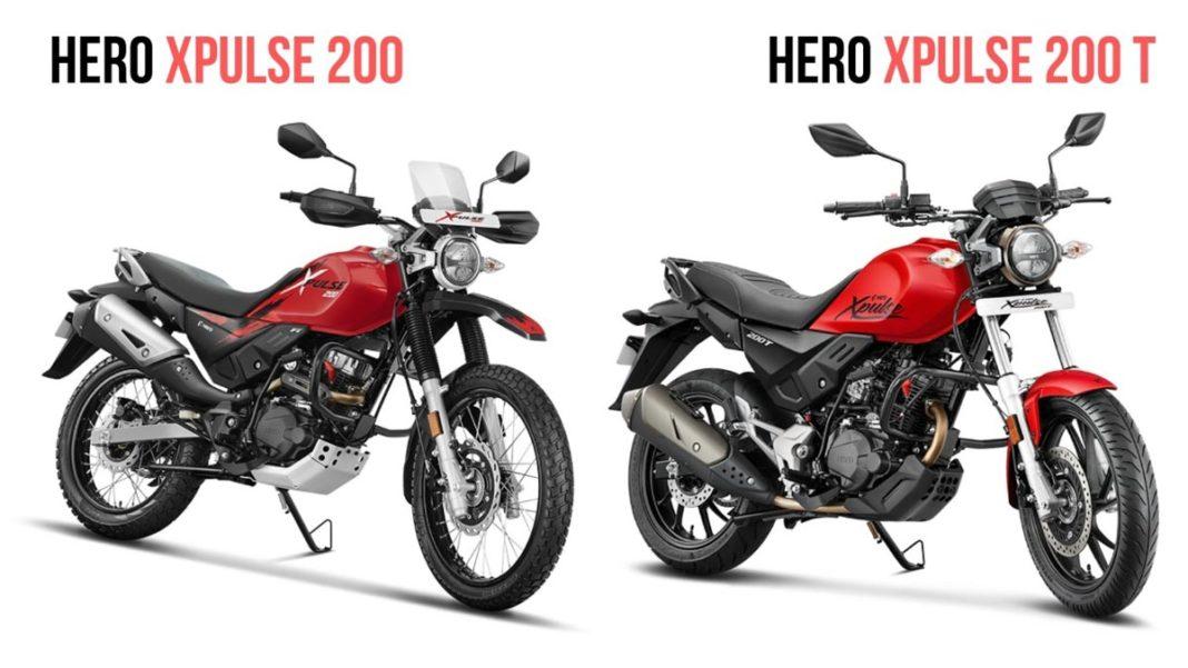 hero xpulse 200 vs hero xpulse 200t