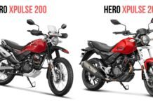 hero xpulse 200 vs hero xpulse 200t