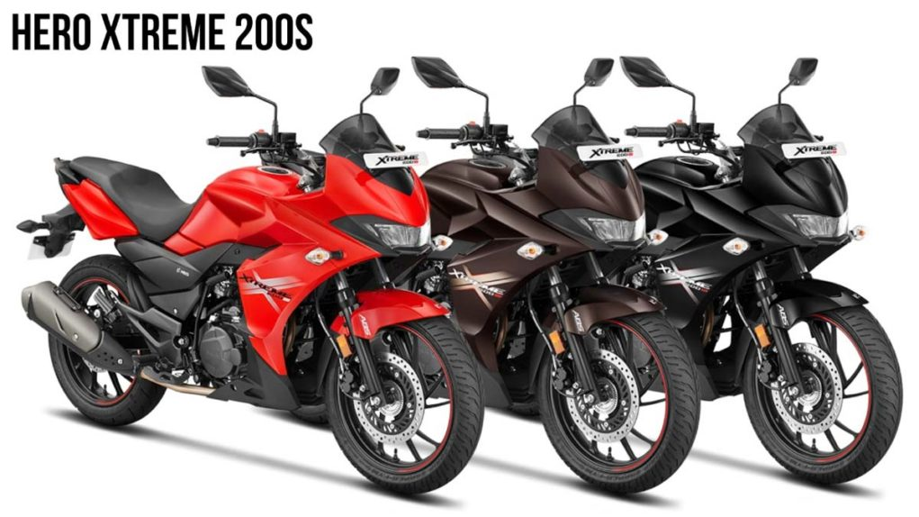 hero xtreme 200s colours