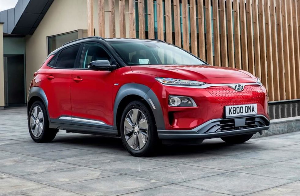Hyundai Kona EV explodes, blows off garage door
