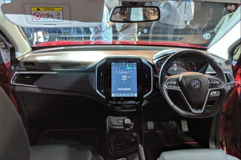 interior MG Hector Premium SUV