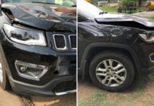 jeep compass accident bill