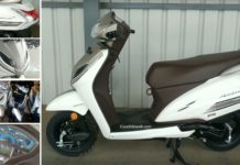 limited edition Honda Activa 5G