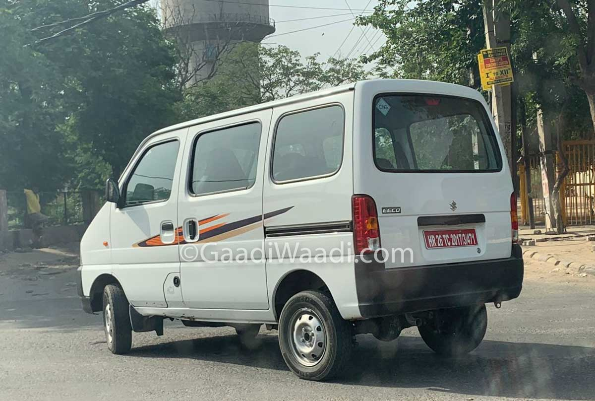f0021788d Exclusive: Maruti Suzuki Eeco CNG BS6 Spotted Testing In India