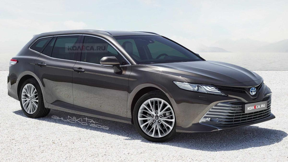 This Toyota Camry Station Wagon Rendering Is Awashed With