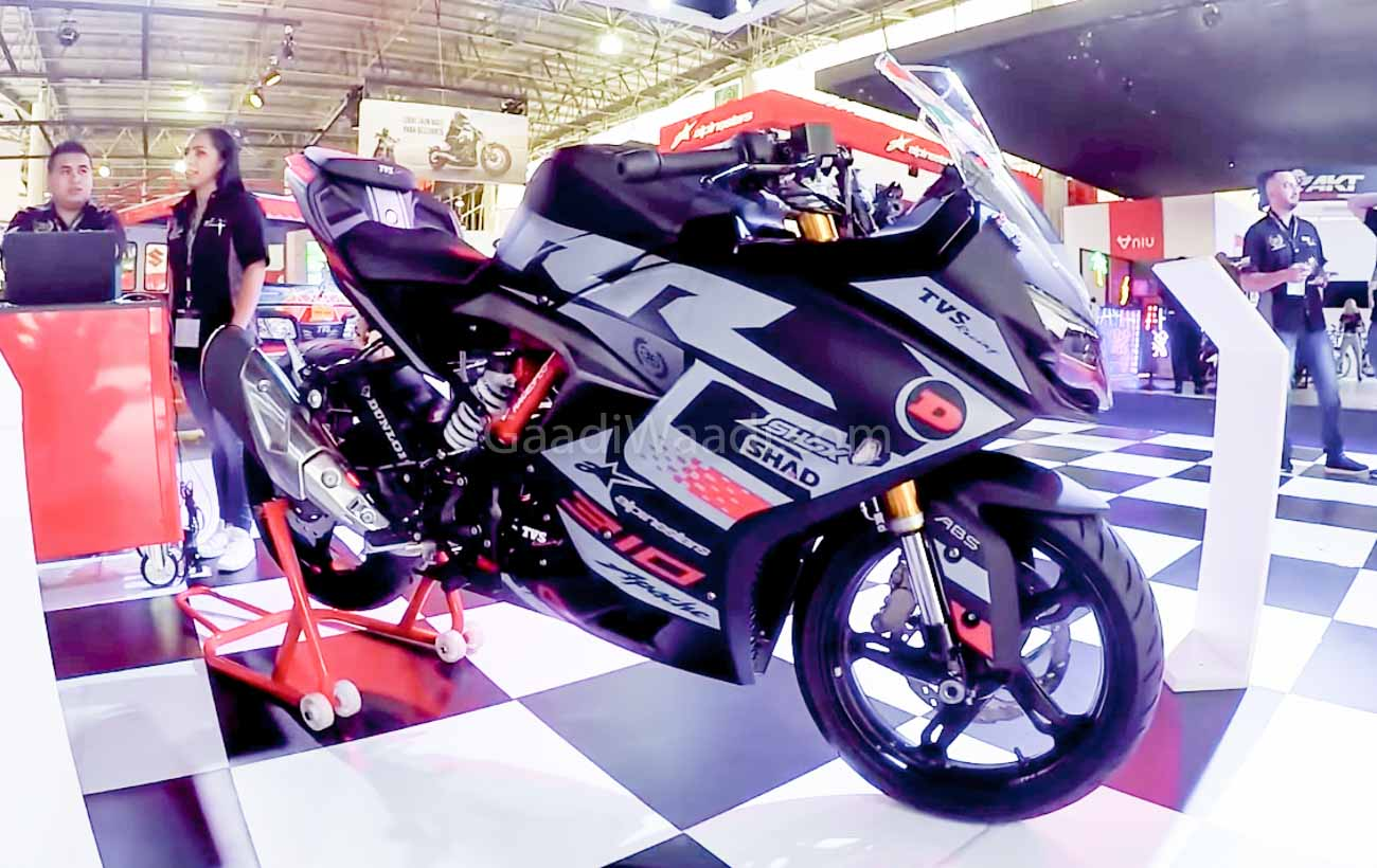 Tvs apache rr 310 new stickers jpg side