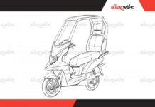 tvs electric scooter solar roof_