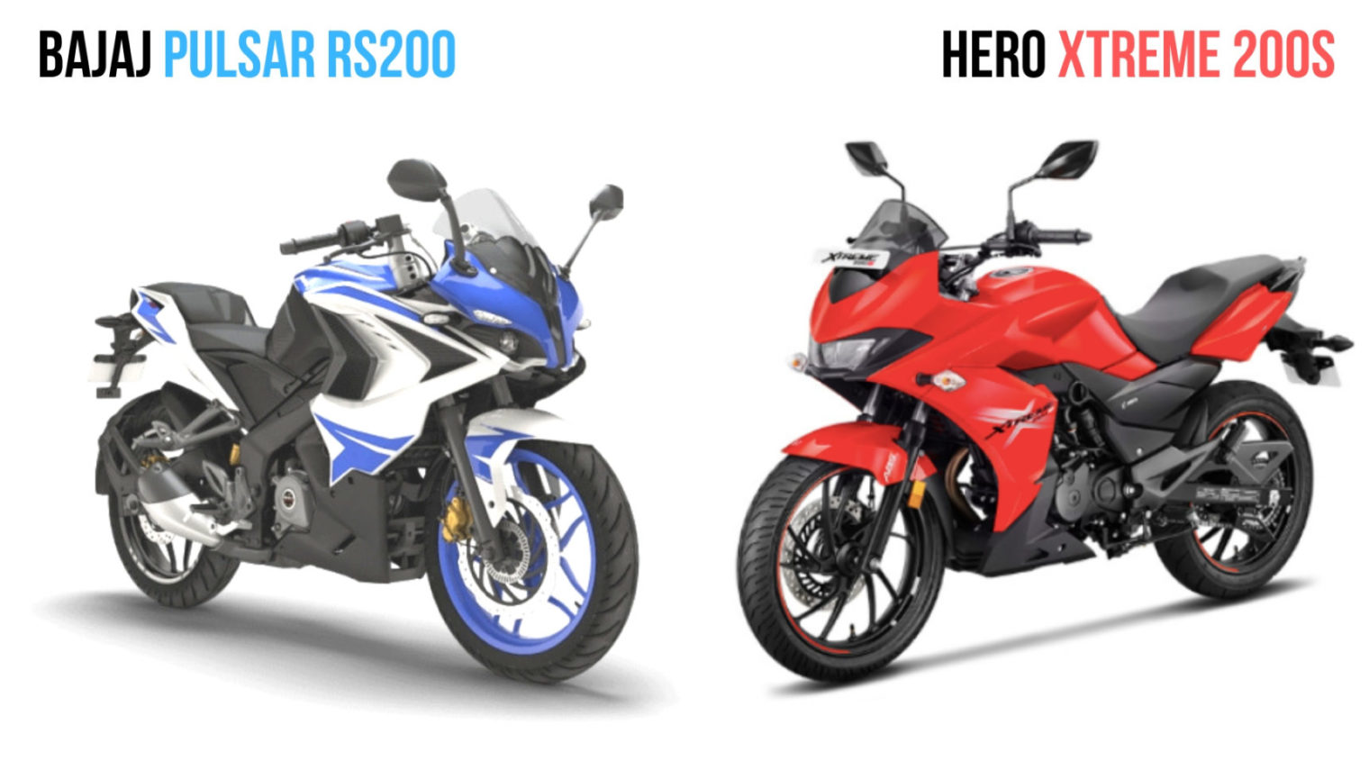Fine Hero Xtreme 200S Vs Bajaj Pulsar Rs 200 Spec Comparison Ncnpc Chair Design For Home Ncnpcorg