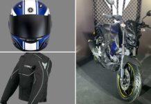 yamaha mt 15 helmet jacket